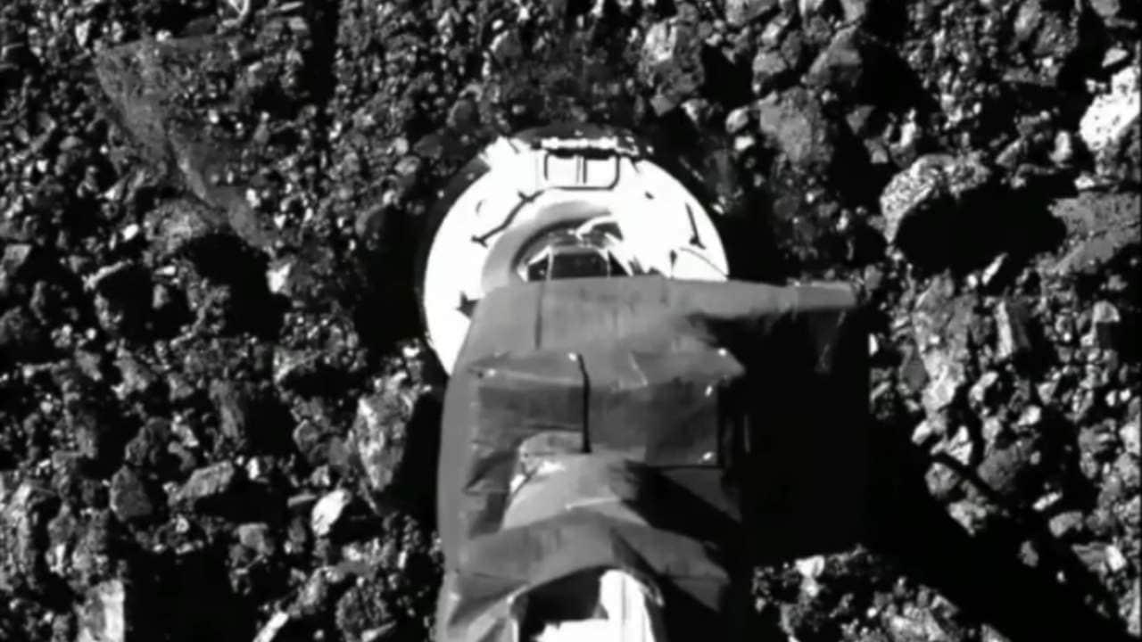 Osiris Rex Collecte Avec Succès Des échantillons De Roche Et De