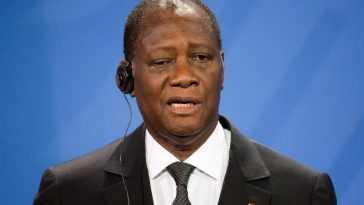 Le Président Ouattara Vote Aux élections Ivoiriennes Avec Un Fort