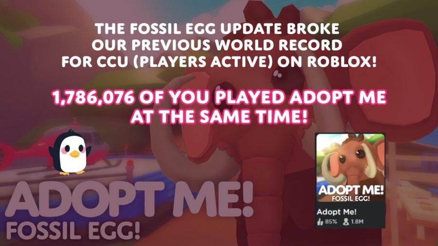 Adopte moi!  record pour la plupart des joueurs actifs