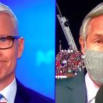 Anderson Cooper Barey Tient Le Coup Alors Que Trump Rally