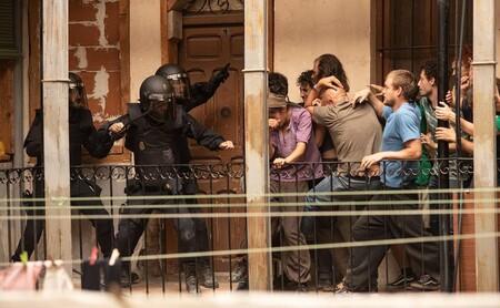Scène d'émeute