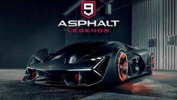 Asphalt 9 Mod Apk: La Dernière Version Et Les Jetons