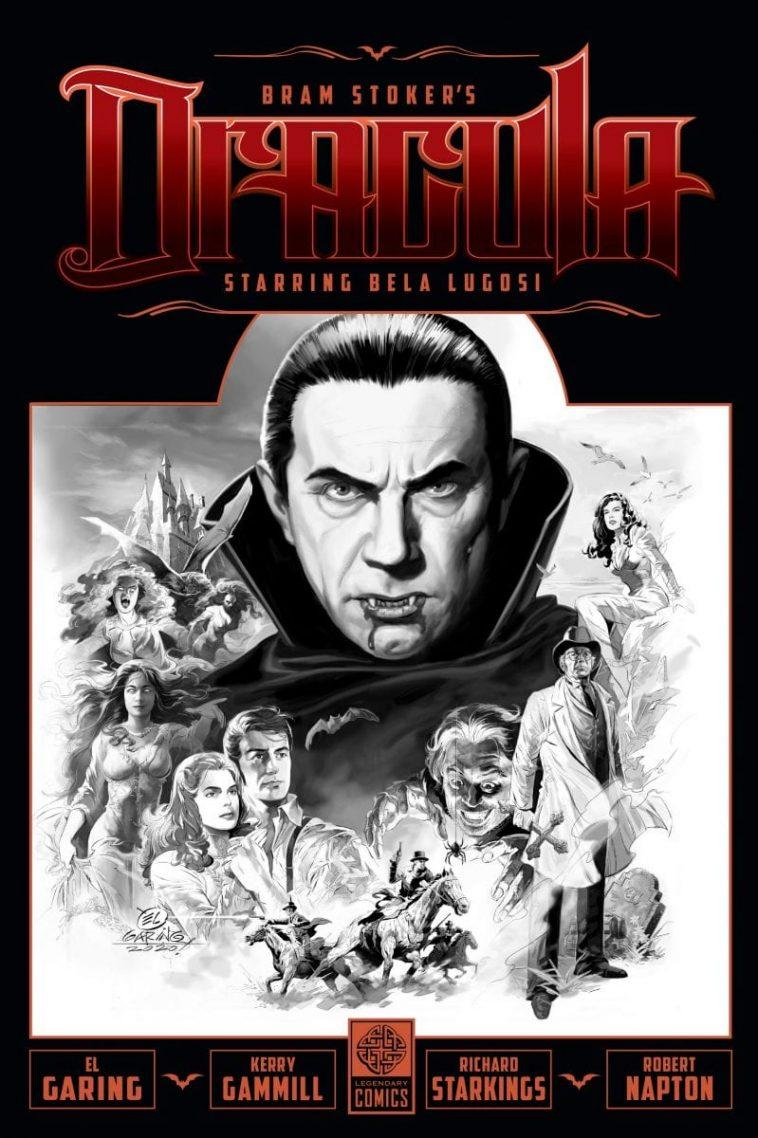 Bela Lugosi Joue Le Rôle De Dracula Dans Un Nouveau