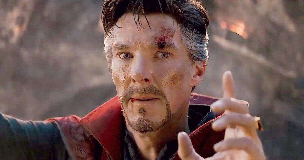 Benedict Cumberbatch A Improvisé Un Moment Clé Dans Avengers: Endgame