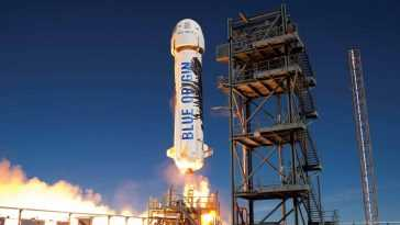 Blue Origin Teste Avec Succès Sa Nouvelle Fusée Shepard Pour