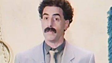 Borat Publie Une Déclaration Sur Rudy Giuliani à La Suite