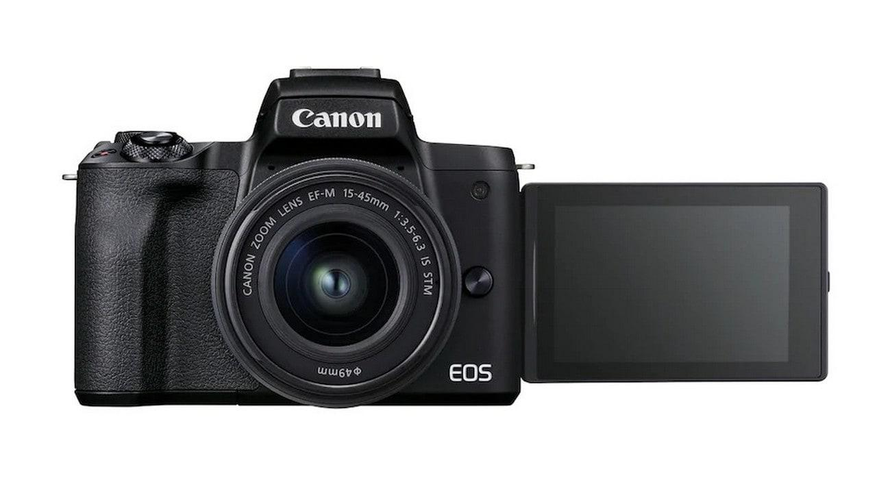 Canon Lance L'appareil Photo Sans Miroir Eos M50 Mark Ii
