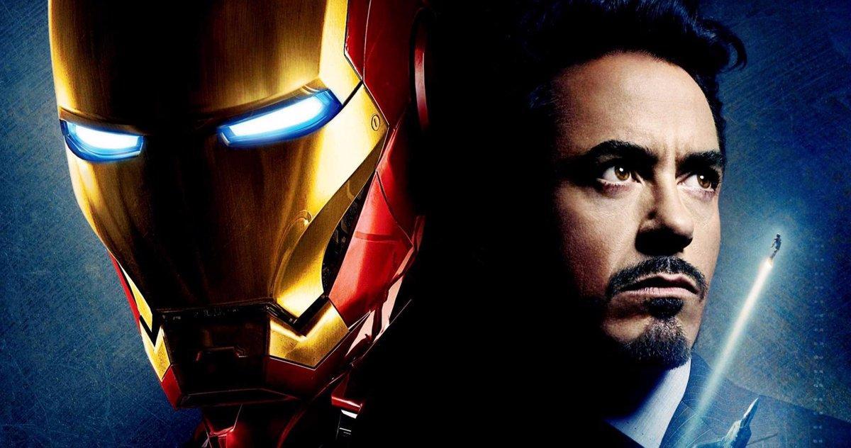 Casque D'origine Iron Man Laissé Robert Downey Jr. Aveuglé Sur