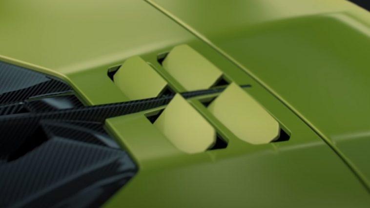 Ces 4 «volets» De La Lamborghini Sián Sont Contrôlés Par