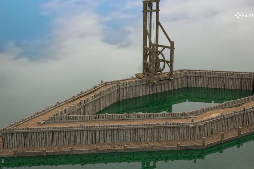 C'est ainsi que les ponts ont été construits au 14ème siècle: cette fascinante vidéo 3D recrée le défi du temps pas à pas