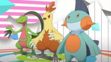 Choisissez Le Meilleur Pokémon De Départ: Grovyle, Combusken Ou Marshtomp?