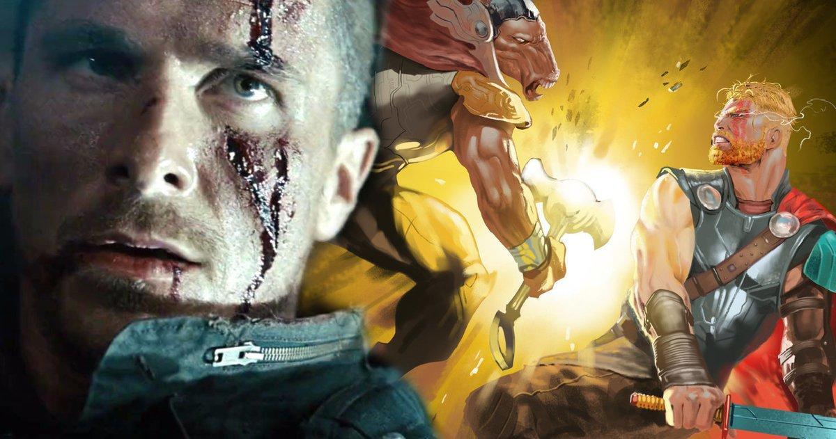Christian Bale Arrive En Australie Pour Thor: Love And Thunder