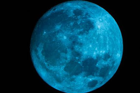 Pleine lune bleue Haloween 2020