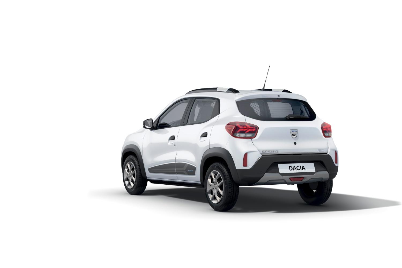 Dacia Spring Cargo électrique