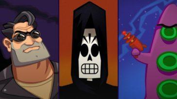 Day Of The Tentacle, Full Throttle Et Grim Fandango Arrivent