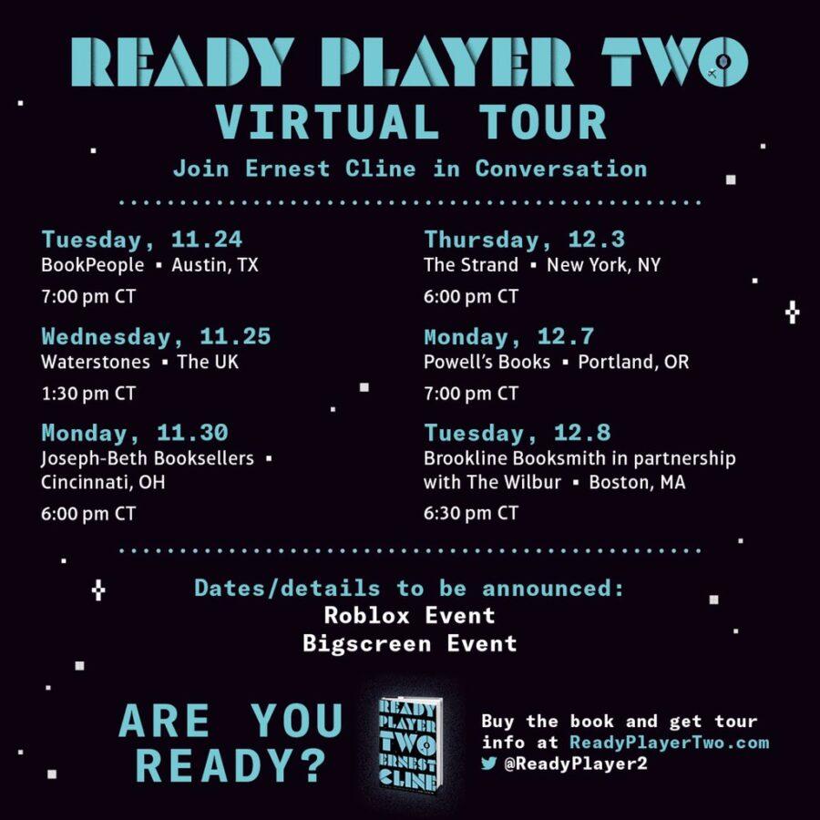 Programme de la visite virtuelle Ready Player Two