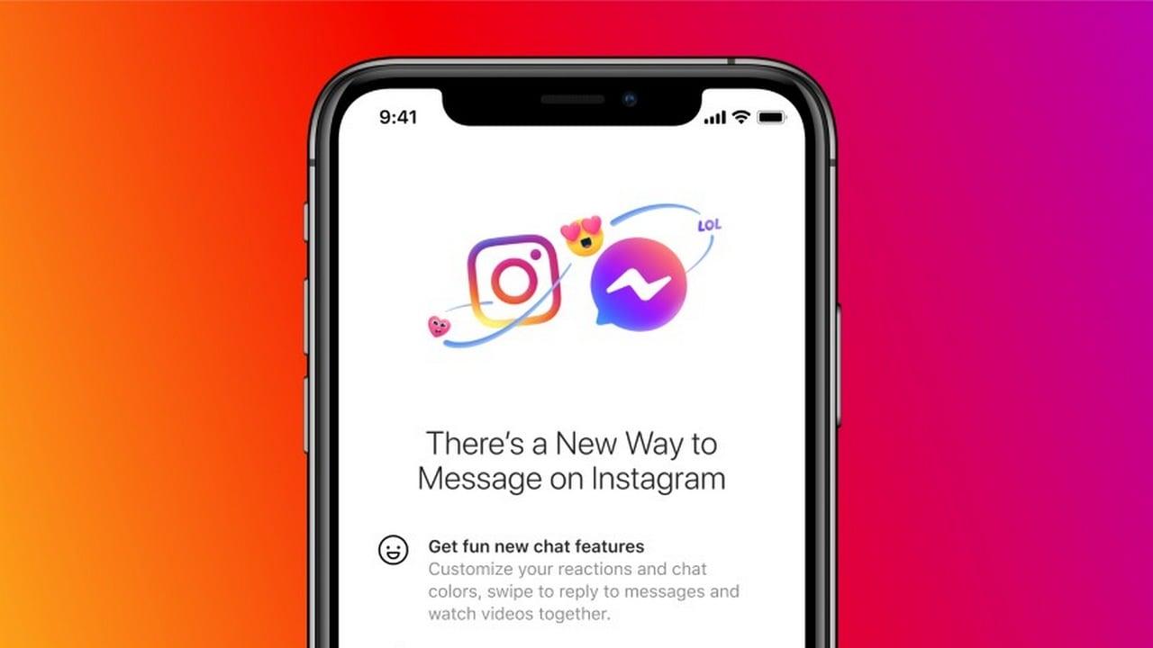 Facebook pour permettre aux utilisateurs de croiser du texte sur les plateformes via Instagram DM et Messenger