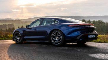 Facture Juste! Porsche A Vendu Près De 11000 Taycans En