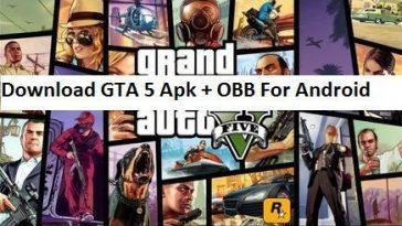 Gta 5 Mod Apk Téléchargement Gratuit De La Version 1.0.8apk.