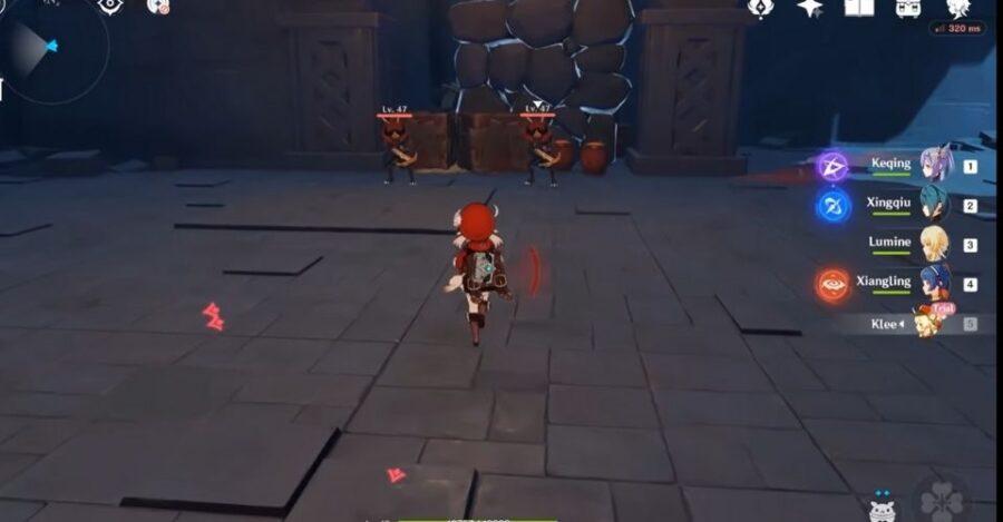Le gameplay de Klee dans Genshin Impact