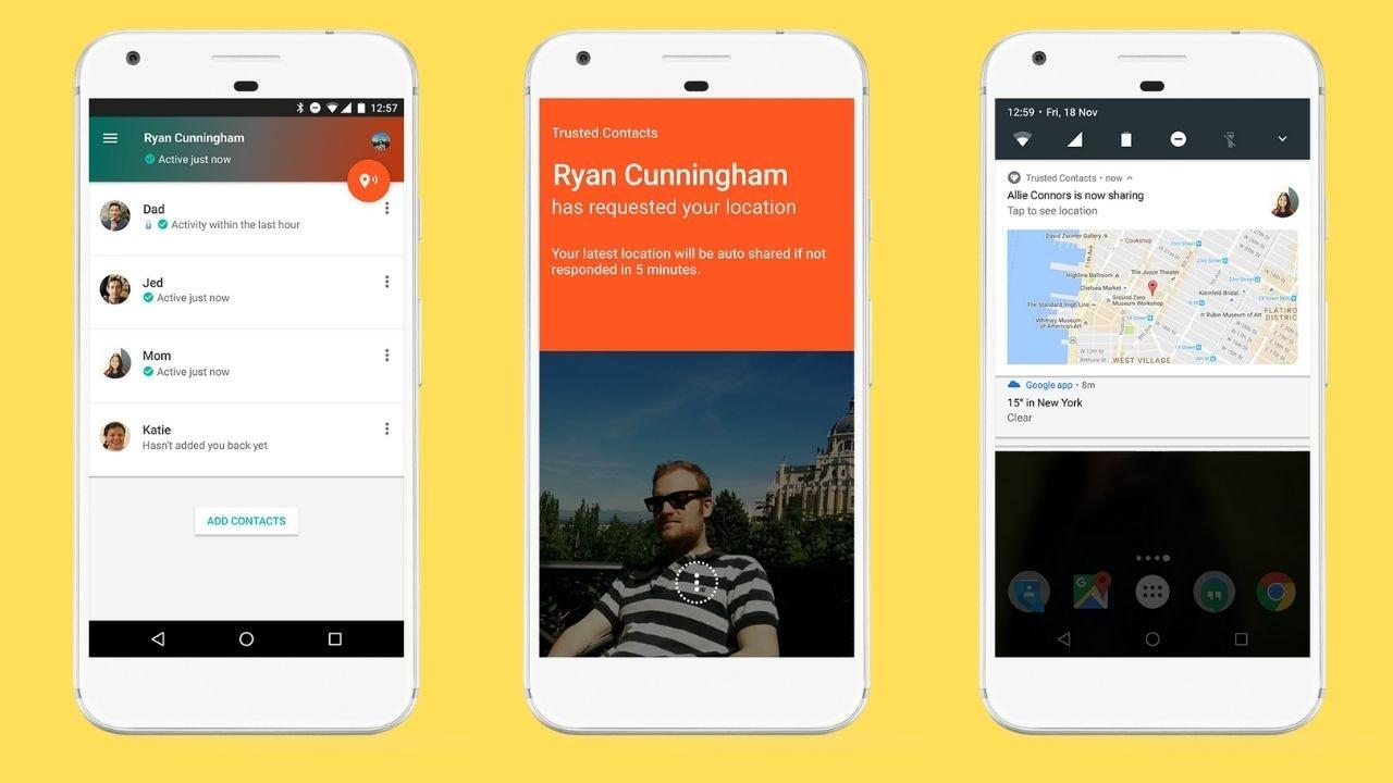 Google Cessera De Prendre En Charge L'application Contacts De Confiance