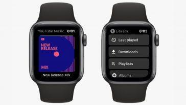 Google Lance L'application Youtube Music Pour Apple Watch, Compatible Avec