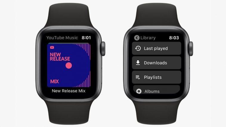 Google Lance L'application Youtube Music Pour Apple Watch, Compatible Avec