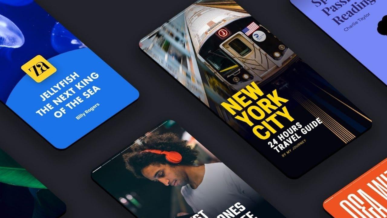 Google présente Web Stories pour offrir une expérience visuelle plus immersive sur Discover