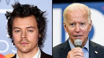 Harry Styles Appelle Les Fans à Voter Pour Joe Biden