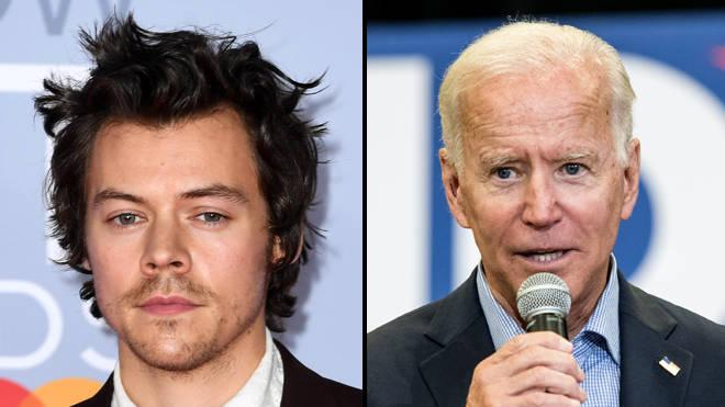 Harry Styles Appelle Les Fans à Voter Pour Joe Biden