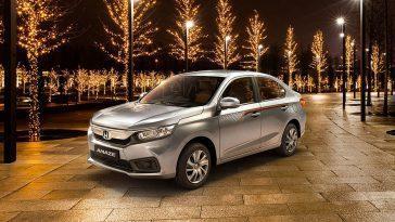 Honda Amaze Special Edition Lancée En Inde à Un Prix