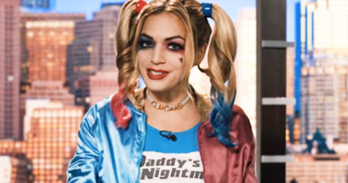 Hubie Halloween Harley Quinn Cameo Se Fait Virer Une Ancre