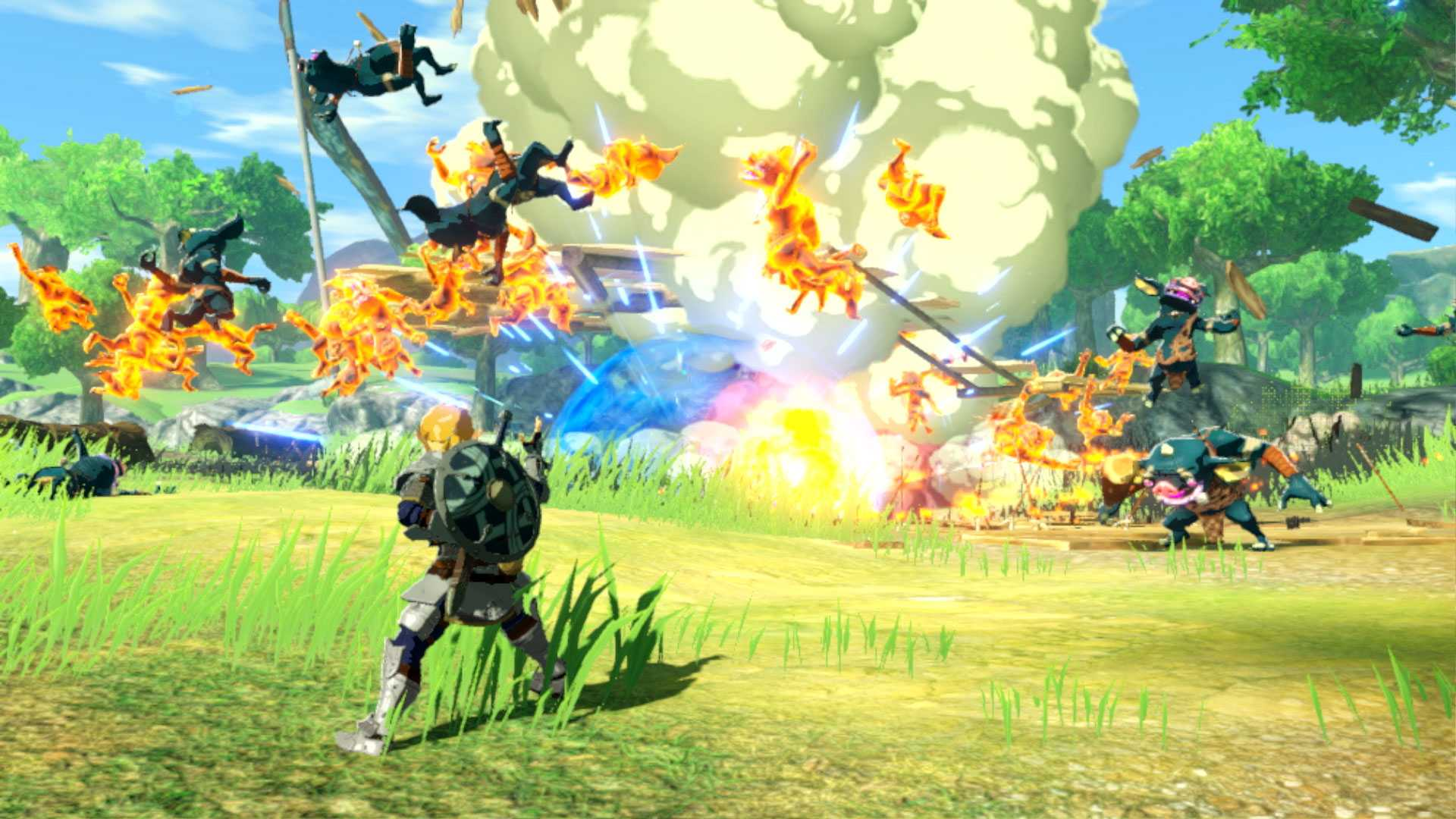 Hyrule Warriors: Age of Calamity - La liste de jeu extraite des données a  été divulguée