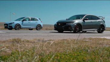 Hyundai I30 N Contre Honda Civic Type R Pour Sa