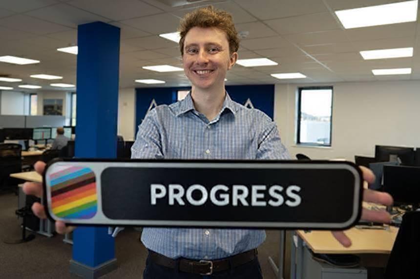 Edward Hitchon Godfrey Bisexual Pride train