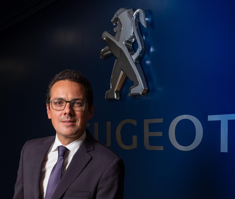 João Mendes, le nouveau directeur de la marque Peugeot pour le Portugal et l'Espagne