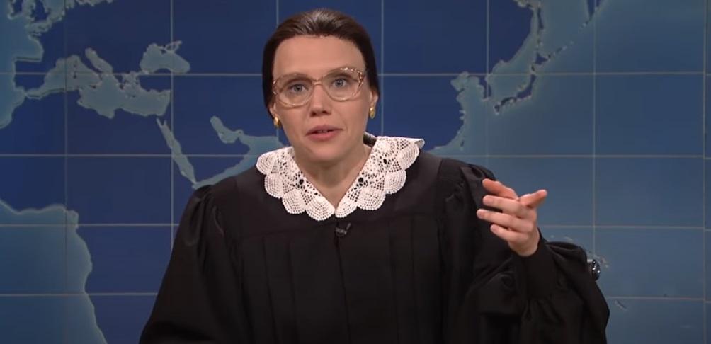 Kate McKinnon avait joué Ruth Bader Ginsburg sur Saturday Night Live pendant des années
