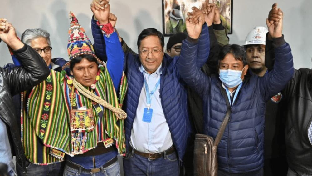 La Bolivie élit Arce Et Le Groupe D'evo Reprend Le