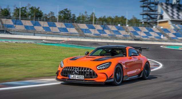 La Mercedes Amg Gt Black Series A T Elle Battu Le Record Du