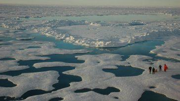 La Banquise Arctique Subit Une Perte `` Historique '' En