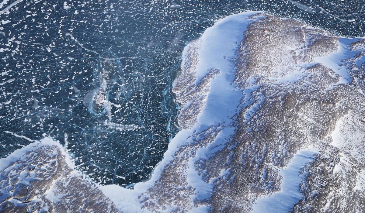 La Fonte Des Glaces Au Groenland Change La Forme De