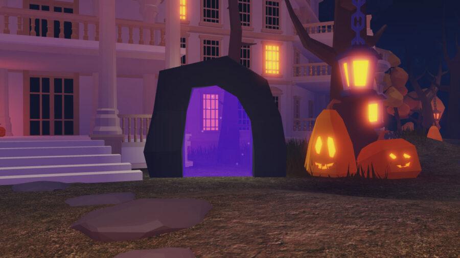 Hub sur le thème d'Halloween des îles Roblox