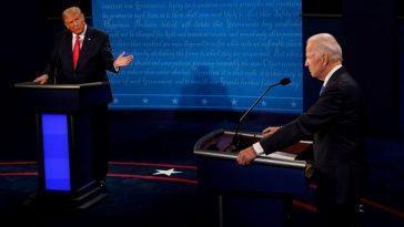 La Modération Marque Le Dernier Débat Entre Trump Et Biden