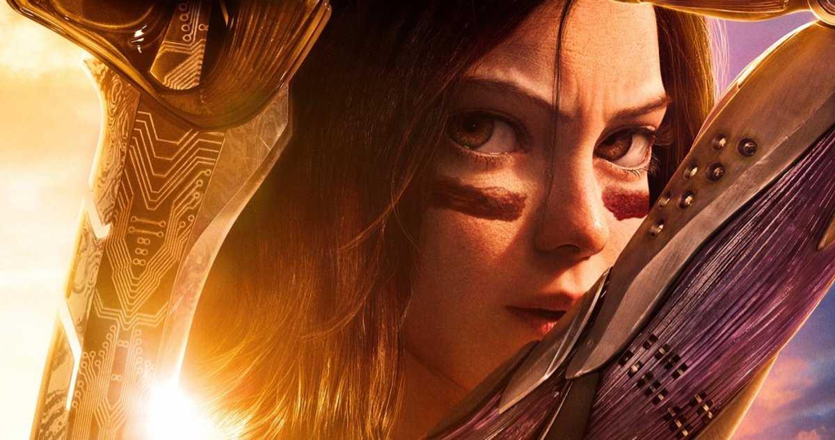 La Nouvelle Affiche Alita: Battle Angel Arrive Avant La Réédition