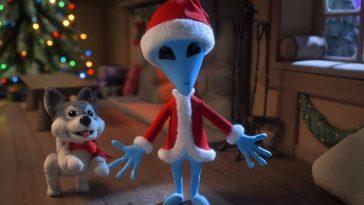 La Première Séquence De Noël Extraterrestre Taquine Le Spécial Stop Motion