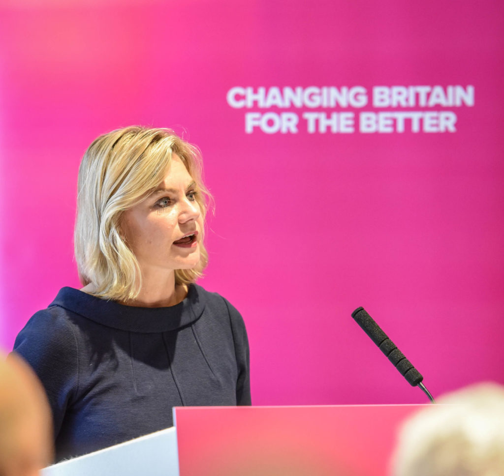 Justine Greening, ancienne politicienne du Parti conservateur britannique.  (Fourni)