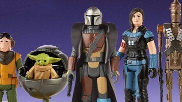 Le Mandalorien Obtient Des Figurines Star Wars De Style Rétro