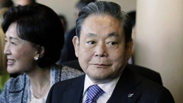 Le Président De Samsung, Lee Kun Hee, Décède à 78 Ans,