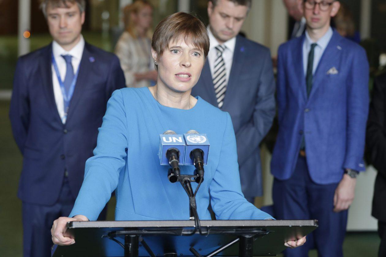 Le Président Estonien Critique Le Ministre Mart Helme Pour L'homophobie