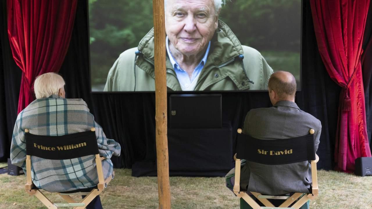 Le prince William et David Attenborough lancent le prix `` Earthshot '' pour encourager la réparation du climat